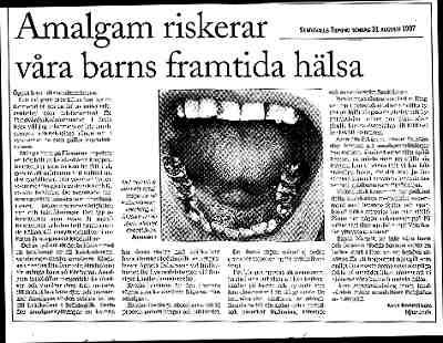 Amalgam sjukdomar finns inte